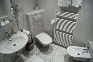 Ein Badezimmer in der Unterkunft Hotel Garni Ramsl