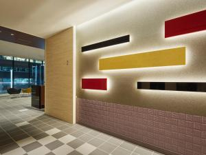 The lobby or reception area at Mitsui Garden Hotel Kyobashi