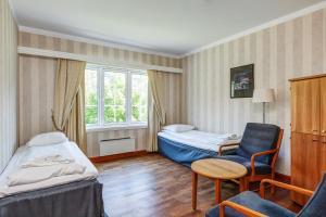 Cama o camas de una habitación en Quality Hotel Vøringfoss