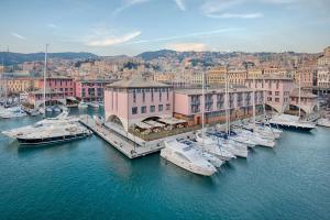 A bird's-eye view of NH Collection Genova Marina