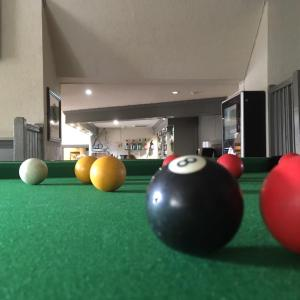 A pool table at Dryburgh Arms Pub with Rooms