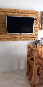 A television and/or entertainment center at Résidence LA VILLA