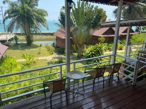 A balcony or terrace at Holiday Resort