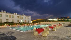 The swimming pool at or close to Inder Residency Udaipur