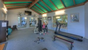 The fitness center and/or fitness facilities at Yamba Motor Inn