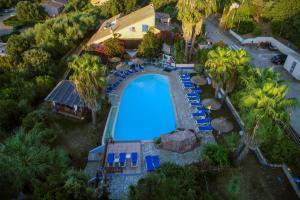 Vue panoramique sur l'établissement Residence Fium Del Cavo