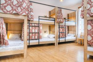 A bunk bed or bunk beds in a room at Pushkin 10 Hostel