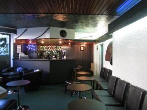 The lounge or bar area at The Sea Crest