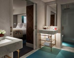 A bathroom at Faena Hotel Miami Beach
