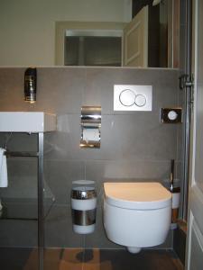 Ein Badezimmer in der Unterkunft Hotel Schnookeloch