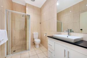 A bathroom at Comfort Inn & Suites Sombrero