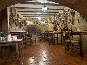 A restaurant or other place to eat at Hotel rural Rinconada de las Arribes