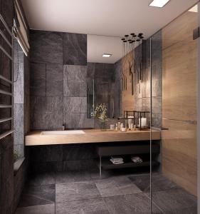 Ванна кімната в Shishkinn Resort&Spa