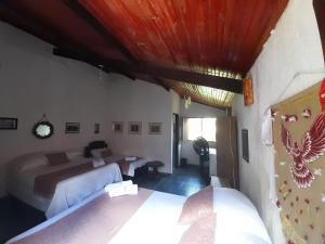 Cama o camas de una habitación en Dom Jaime
