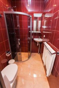 Ванная комната в Отель Кастелло