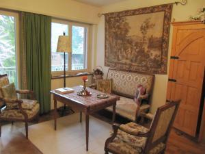 Area soggiorno di Chez Jean et Daisy
