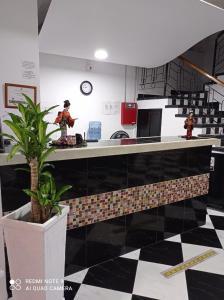 The lobby or reception area at Hotel Beijing Internacional