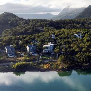 A bird's-eye view of Romeo & Juliet Dalat Resort