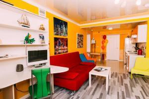 Гостиная зона в Хостел Какаду