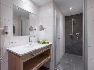 Ein Badezimmer in der Unterkunft Apart Huamatl
