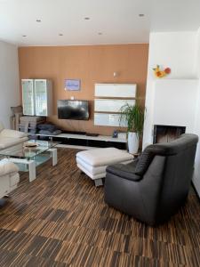 Posezení v ubytování Haus Schön Business & Holiday