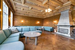 Et sittehjørne på Hald Sommerhotell