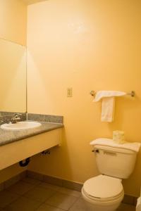 A bathroom at Budget Inn Redwood City