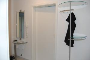 Ein Badezimmer in der Unterkunft Fewo Reutlingen Heinestraße DG