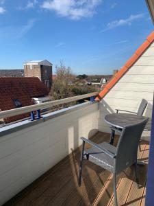 Een balkon of terras bij Les Maisons Domburg