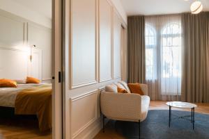 Istumisnurk majutusasutuses Park Hotell Viljandi