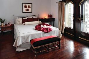 Ένα ή περισσότερα κρεβάτια σε δωμάτιο στο Porto Carras Villa Galini