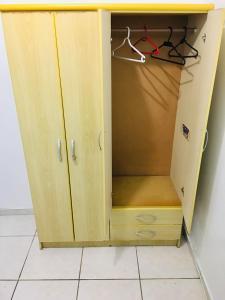 A bathroom at Studio Centro São Leopoldo