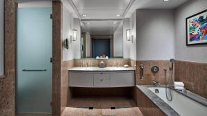 A bathroom at The Opus, Westchester, Autograph Collection
