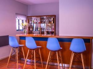 A área de bar ou lounge em Flag Hotel Braga