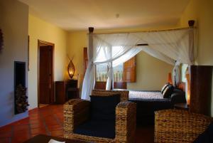 Cama o camas de una habitación en Masía Durbá