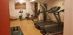 The fitness center and/or fitness facilities at Hotel Escalade