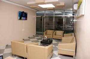 A seating area at HOTEL PLATINUM