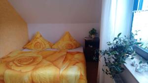 A bed or beds in a room at Apartment in Eibenstock 30354