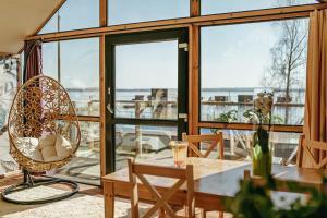 Restauracja lub miejsce do jedzenia w obiekcie Herbals&SPA-Tree&beach tents