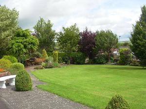 A garden outside Meadow Bank B&B