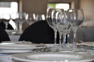 A restaurant or other place to eat at Nuevo Hotel Constitucion