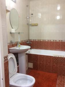 A bathroom at Prime Inn