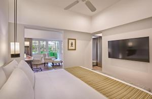 A television and/or entertainment center at Goodwood Park Hotel (SG Clean)