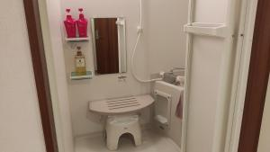 A bathroom at Hotel Chuo Oasis