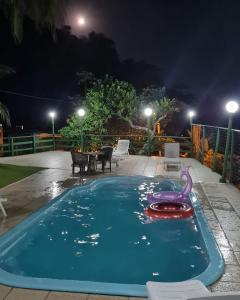 The swimming pool at or close to Recanto da gipoia