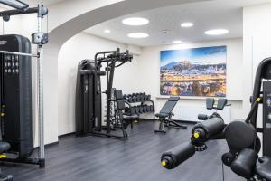 The fitness center and/or fitness facilities at Hotel Wolf Dietrich