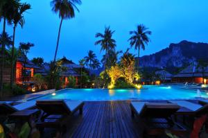 The swimming pool at or near Ao Nang Phu Pi Maan Resort & Spa