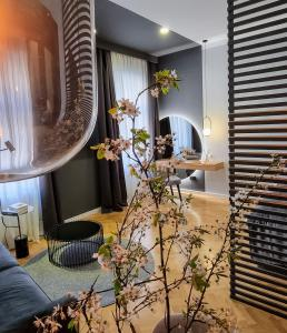The lobby or reception area at MINT Boutique Studio Apartments I