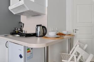 Una cocina o zona de cocina en Sokroma Wow
