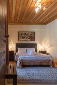 Ένα ή περισσότερα κρεβάτια σε δωμάτιο στο Angels Shelter